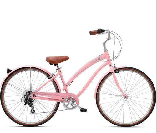 Bicicleta Feminina Nirve Starliner Soft Pink