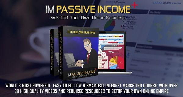 IM Passive Income Plus Review is a complete training course that contains all the resources that you need to build your online business. Regardless you're a newbie or a struggle marketer, this course gives you a good kick to start your online business empire and generate massive income stream every day!