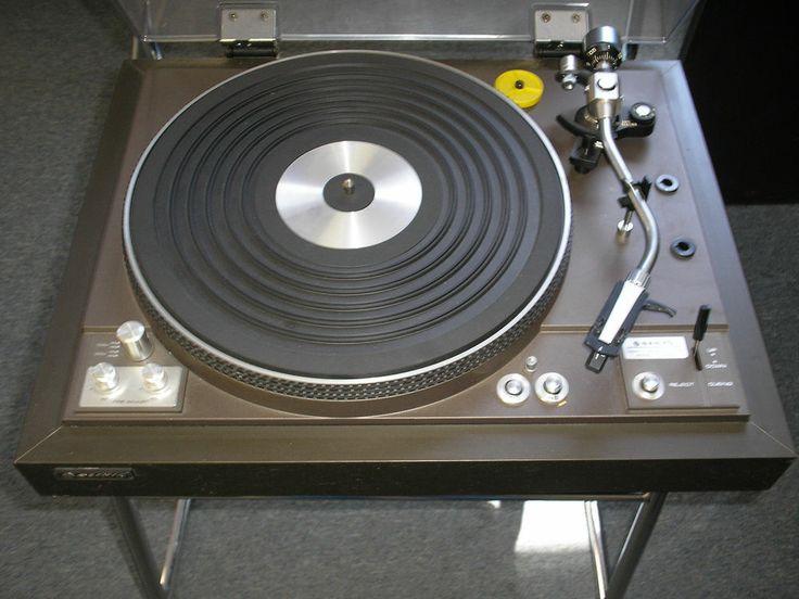 Vintage Sanyo Tp 825d Turntable Turntable And Vintage