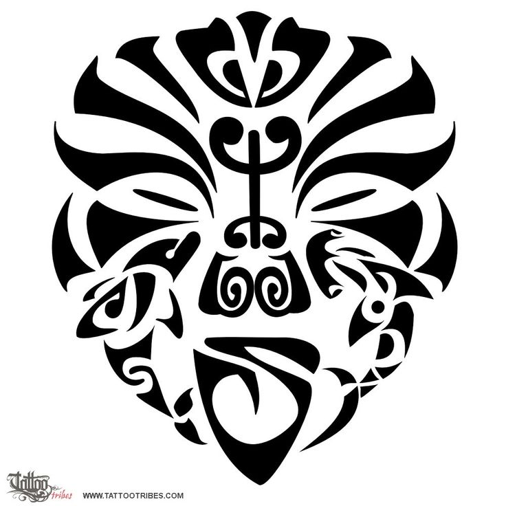 Tatuaggio di Maschera guerriero, Tenacia, amicizia tattoo - TattooTribes.com