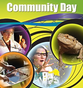 It's Community Day at the Ontario Science Centre. Free admission!