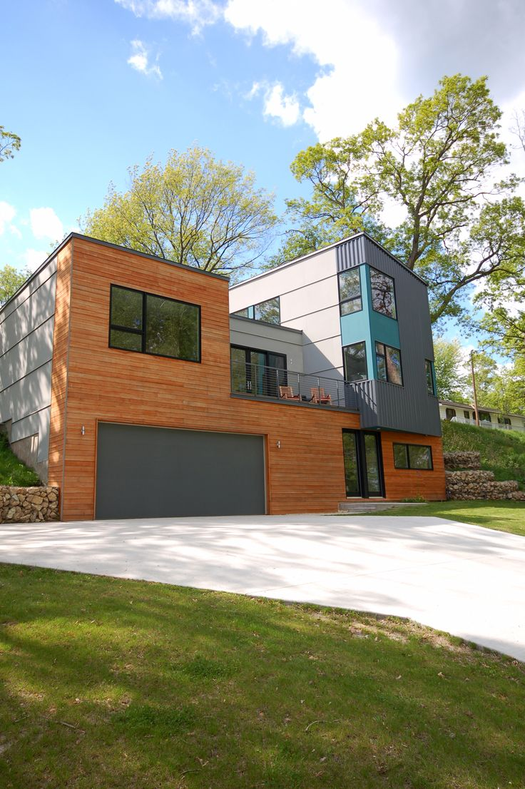 hive architecture x line 003 vadnais heights mn modern exterior - Hive Modern Prefab