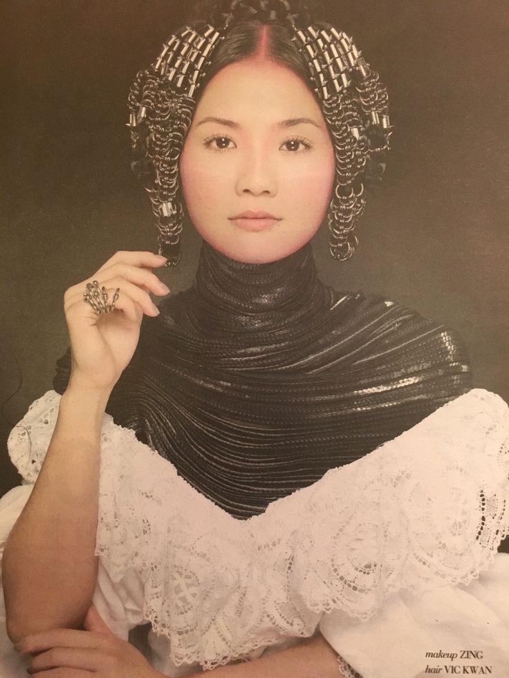 Charlene Choi - The Artist  @ The Most Beautiful Women in Hong Kong wear Zing  Makeup - Zing Hair - Vic Kwan Art Direction - TiTi Kwan Photography - Paul Tsang