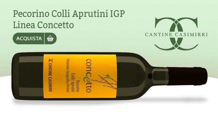 Pecorino Colli Aprutini IGP 2016 – Cantine Casimirri