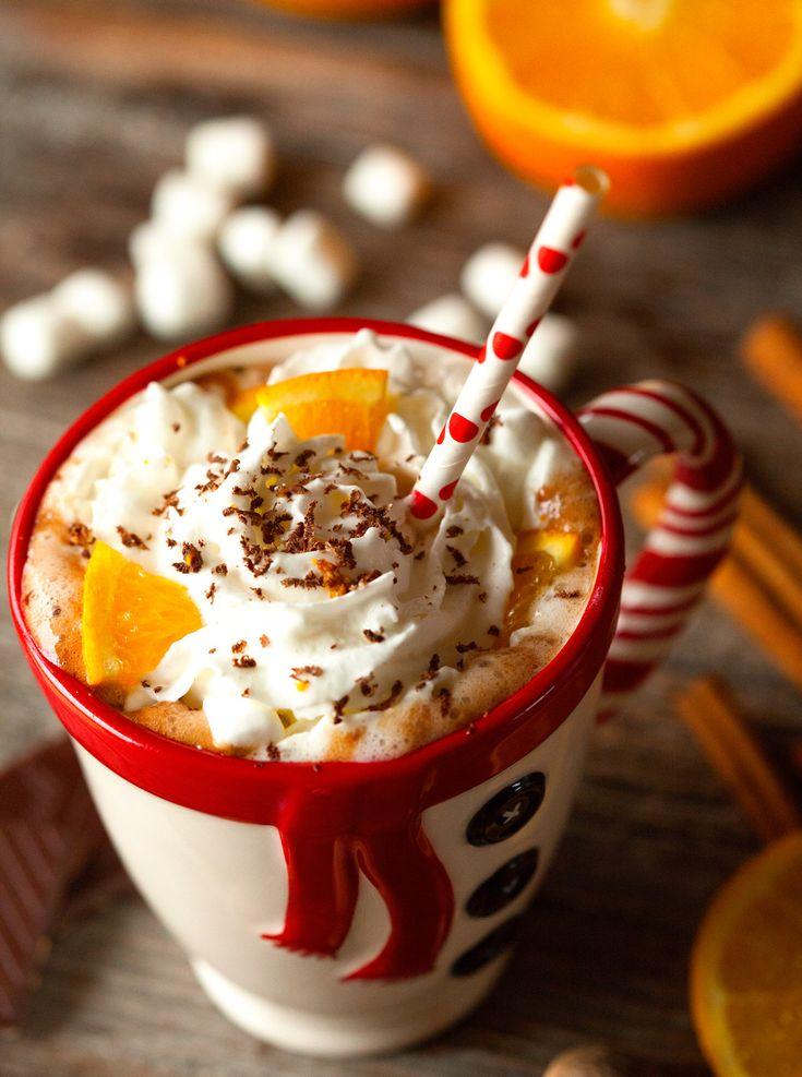Meilleure recette de chocolat chaud épicé à l'orange