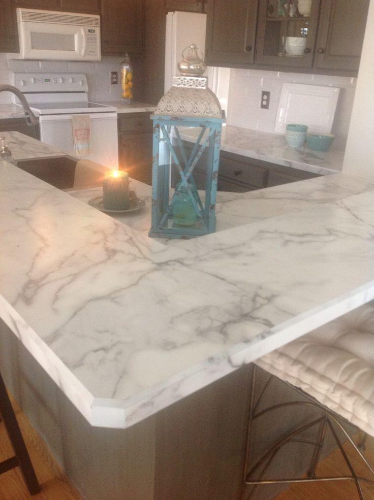 Calacatta marble wilsonart fx180  Calacatta counter tops