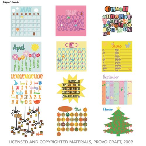 Designer's Calendar Cartridge