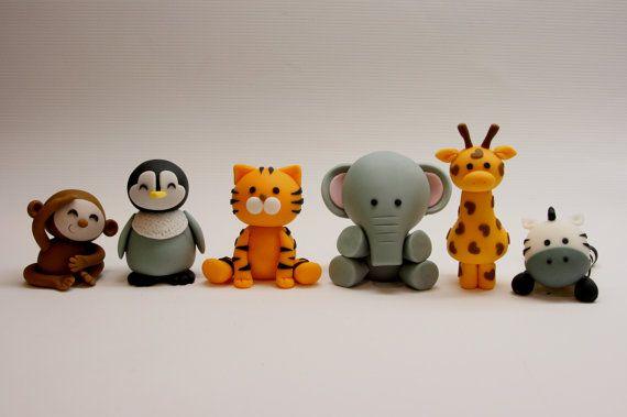 safari animal toppers