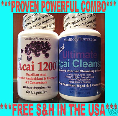 Acai Berry + Colon Cleanse Detox~~POWERFUL PROVEN COMBO: Fit Weightloss, Acai Berries, Cleanses Detox Pow, Detox Pow Proven, Colon Cleanses, Proven Combos, Detoxpow Proven, Weights Loss, Acai Berry
