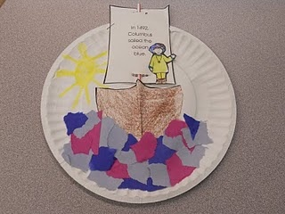 columbus day: Happy Columbus, Teacher Stuff, Columbus Day Preschool, Classroom Ideas, Sharpener Pencil, Social Study, Paper Plates, Crafts, Christopher Columbus