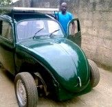 Nigerian Student Converts a VW Beetle into a $6,000 Wind- and Solar-Powered Car | Inhabitat - Sustainable Design Innovation, Eco Architecture, Green Building