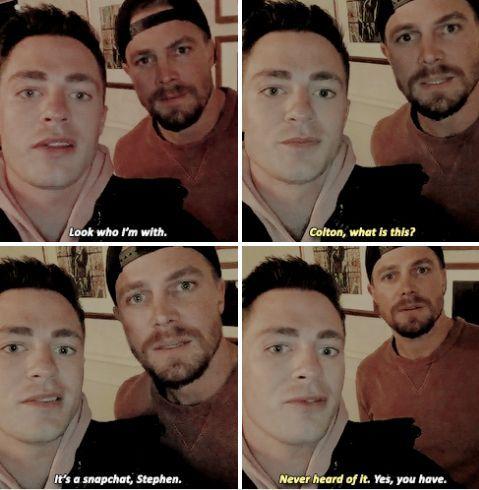 Colton & Stephen on Snapchat