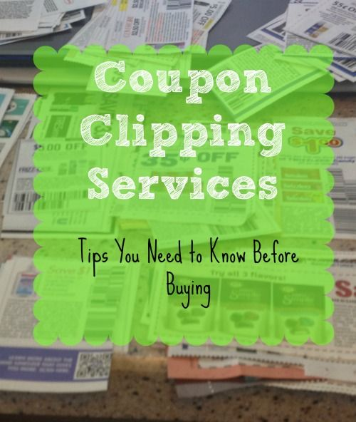 Coupon Clipping Services Tips You Need to Know Before Buying Buying Coupons from a Clipping Service via BargainBriana.com