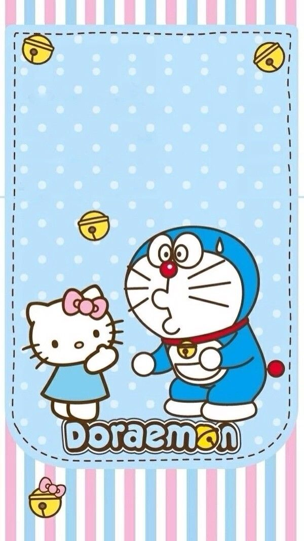 Hello kitty y doraemon