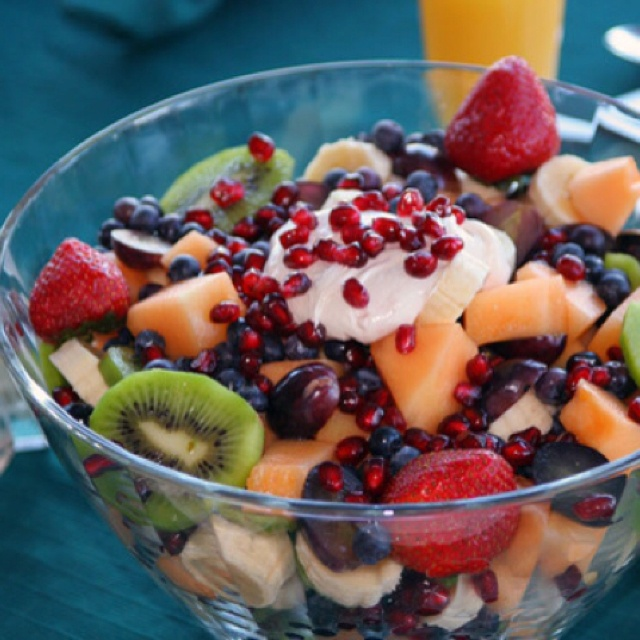 is it healthy to just eat fruit fruit salad yummy yummy