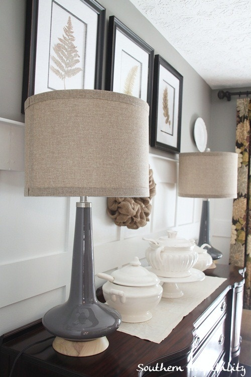 Best 25 Grey Lamp Shades Ideas On Pinterest Shabby Chic Bedrooms On A Budget Living Room