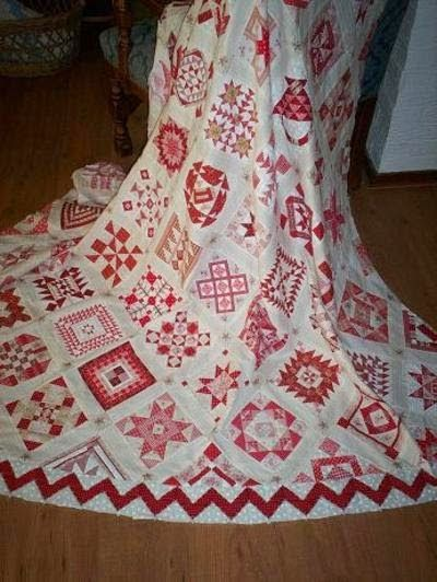 Supergoof Quilts: Stonefields Quilt van Susan Smith