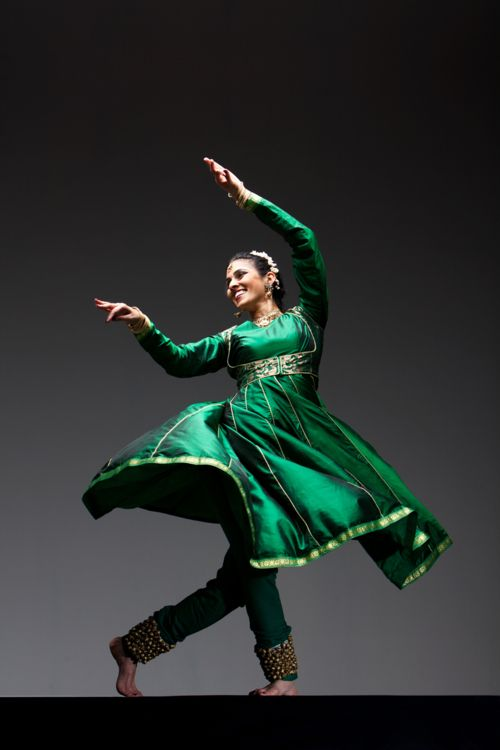 Celebrations around the world:  Kathak dancer - India