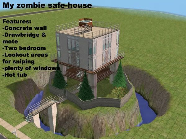 This Is Exactly What I Had Envisioned For A Zombie Apocalypse Safety House Right Melanie Inoncillo I D Zombie Apocalypse Survival Zombie Zombie Proof House