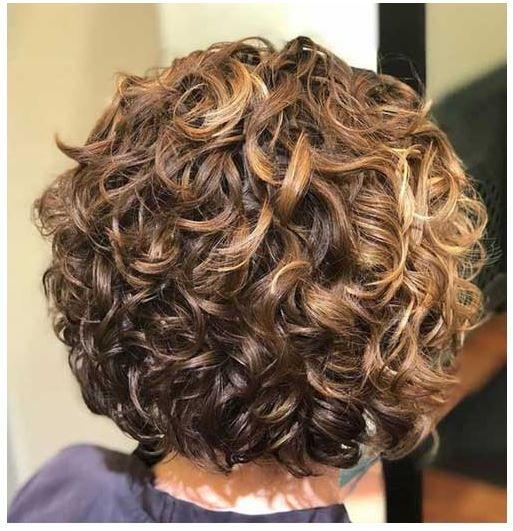 Curly Bob Hairstyles 2020 Frisuren Naturlocken Frisuren