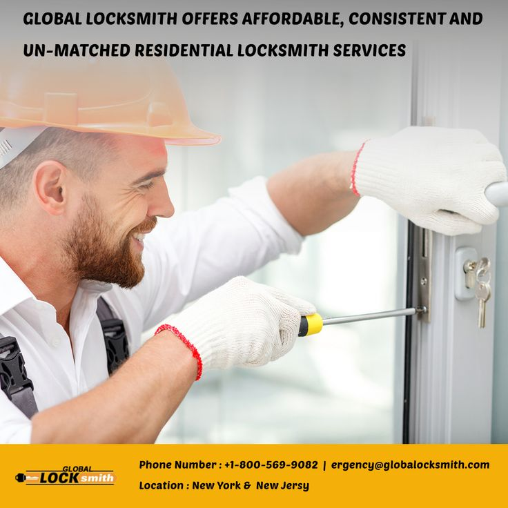 Global locksmith offers affordable, consistent and un-matched residential locksmith services at New York and New Jersey day and night, rain and shine. When it comes to the security, we put in every effort to provide finest and high class services...http://goo.gl/f7104t