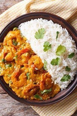 Photo de la recette Crevettes à l'indienne