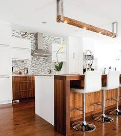 les 51 meilleures images du tableau cuisines contemporaines sur pinterest armoire de cuisine. Black Bedroom Furniture Sets. Home Design Ideas