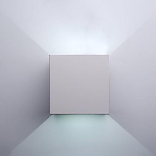 Oferta: 30.99€ Dto: -48%. Comprar Ofertas de Topmo 12w lámpara de pared LED impermeable IP65 moderno al aire libre apliques 840LM 6500K blanco frío aluminio apliques llev barato. ¡Mira las ofertas!