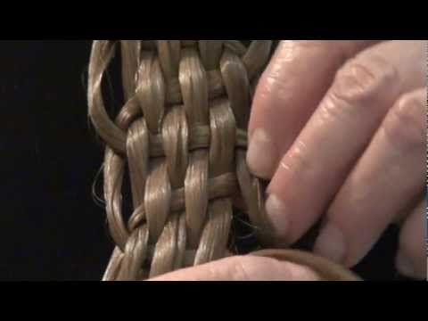 Fancy Basket-weave Braid Video from the Feathered Nest, Bishop Hill, Illinois USA