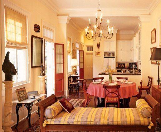 In Helen Mirren 39 S New Orleans Bungalow Celebrity Homes Pinterest Helen Mirren