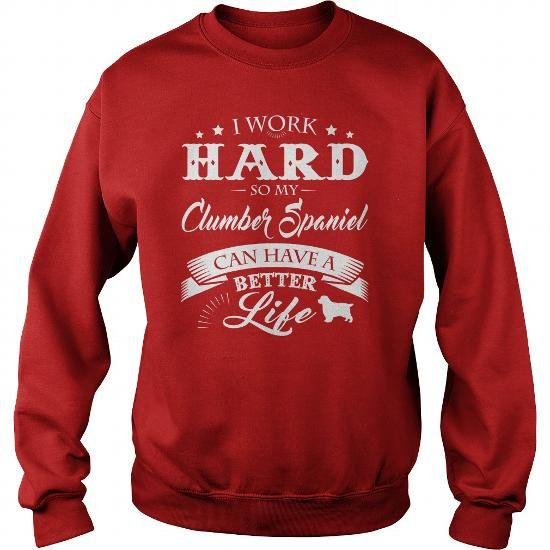 Love my Clumber Spaniel T-Shirts, Hoodies ==►► Click Image to Shopping NOW!