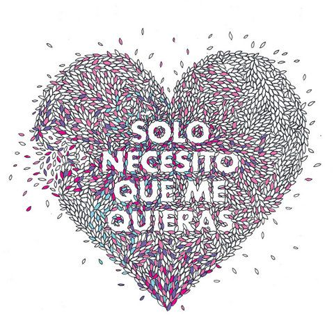 #quotes de #amor: Spanish Love Quotes Translated, Quotes De, Solo Necesito, Spanish Quotes Love, Frases De Amor En Espanol, Only That, Beautiful Love, Quotes Frases