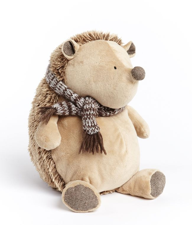 Papa Puggle has a cute name and an even cuter face and scarf to keep him warm during the cold winter months. This dear cuddly man is beautifully soft and bound to comfort little ones throughout the whole year!