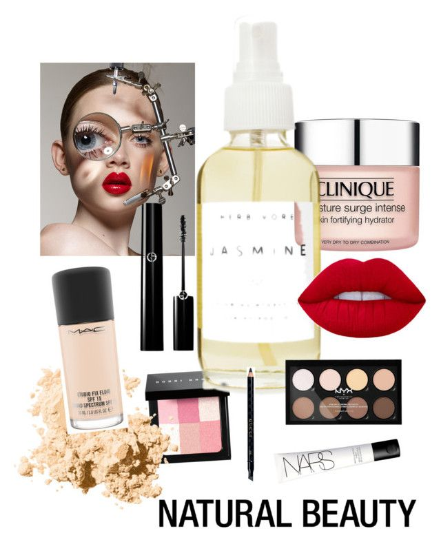 Face by victoriasnchezm on Polyvore featuring polyvore, beauty, MAC Cosmetics, Bobbi Brown Cosmetics, NYX, Gucci, Clinique, A Weathered Penny and NARS Cosmetics