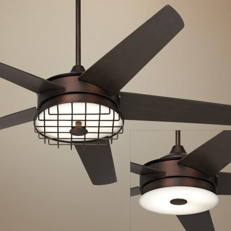 Bronze 60 in span or larger ceiling fan with light kit ceiling fans
