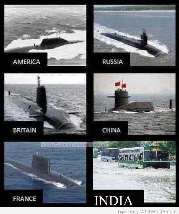 The Indian war Submarine :D