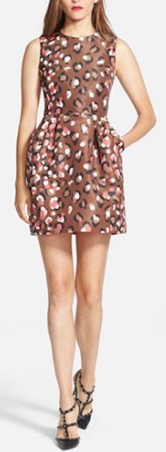 cute leopard print dress http://rstyle.me/n/nd6xdr9te