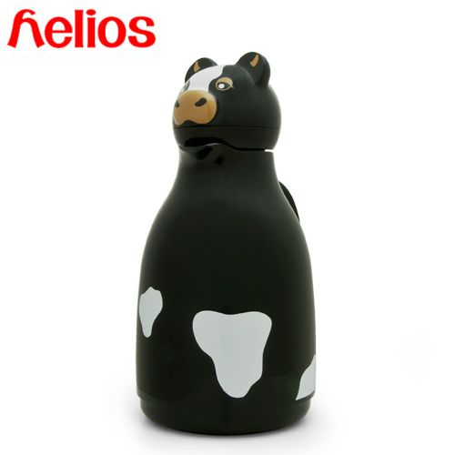 【楽天市場】【在庫処分セール!】Helios ヘリオスサーモカウ(ブラック) 魔法瓶 保温ポット JAN: 4006657125444:良品百科 楽天市場店