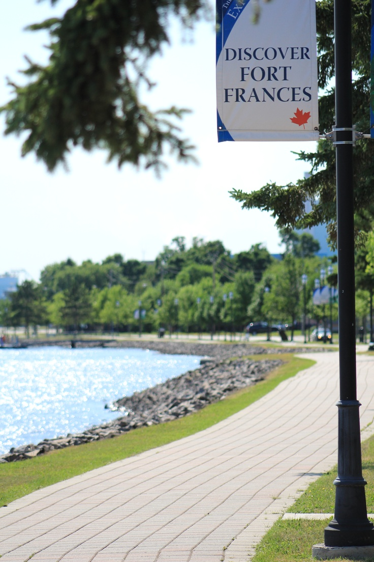 Beautiful! Take a stroll in Fort Frances, Ontario