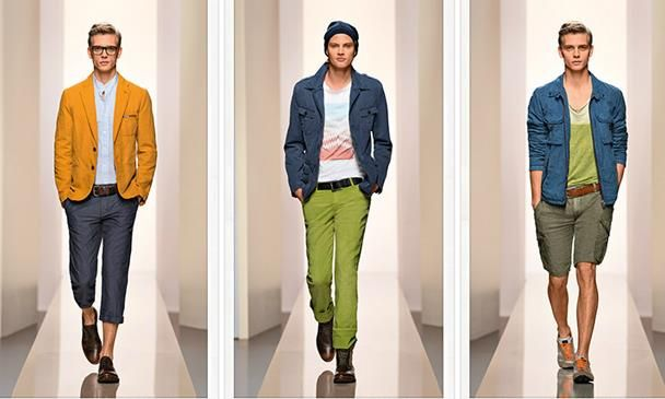 Хлопковые брюки boss green