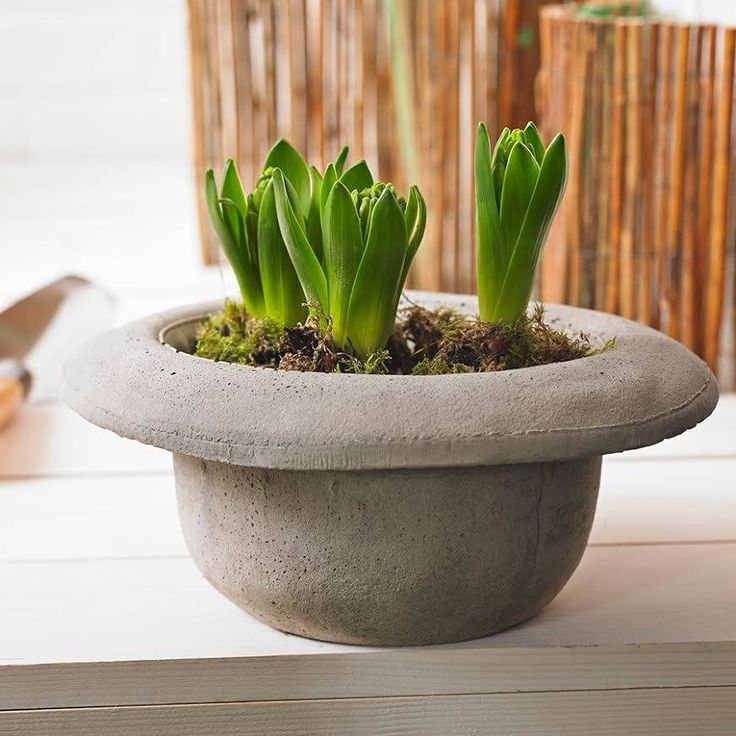 Concrete Hat Vase Or Ice Bucket