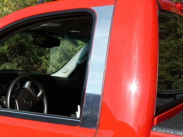 SILVERADO 2007-2014 CHEVROLET (REGULAR CAB)(2 pieces: Pillar Post Trim Kit ) PP47181