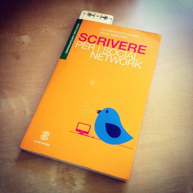 """""""Scrivere per i social network"""" - Alessandro Lovari e Yahis Martari #twittamiunlibro #biliotecaideale #libri #leggere #lettura #cultura #books #reading #read"""