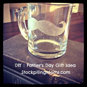 DIY :: Father's Day Mug  http://www.stockpilingmoms.com/2012/06/diy-fathers-day-mug/