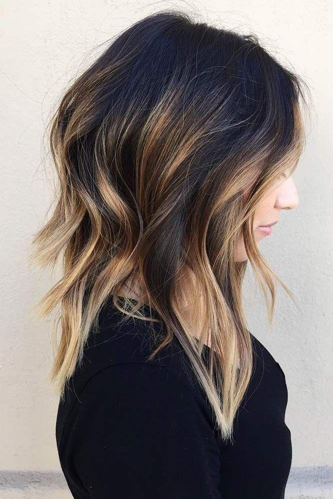 21 Stilvollste Aussehende Zweifarbige Frisuren Haarschnitt Haarschnitt Bob Bob Frisur