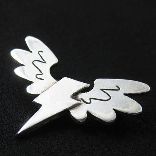 Silver Wonderbolts pin