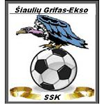SSK Grifas-Ekso Šiauliai - Lithuania - - Club Profile, Club History, Club Badge, Results, Fixtures, Historical Logos, Statistics