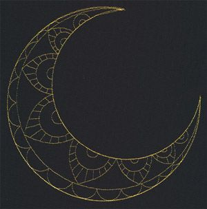Talisman - Crescent Moon design (UT10006) from ...
