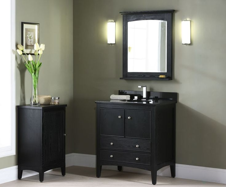 Website Photo Gallery Examples The Xylem Kent Traditional Bathroom Vanity Brown Ebony Finish Solid Ash construction is