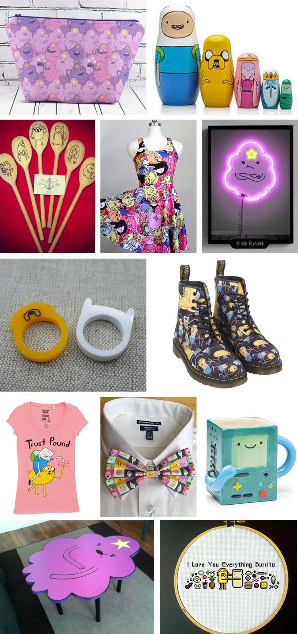 Adventure Time Fashion and Home Decor